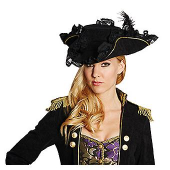 Edele piraat zwart accessoires Pirate hat piraat Halloween carnaval