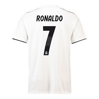 2018-19 Реал Мадрид дома футболка (Роналду 7) - для детей