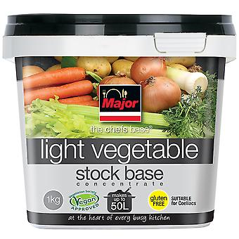 Major Gluten Free Concentrated Light Vegetable Stock Base