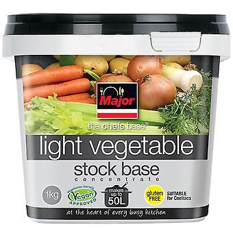 主要なグルテン フリー集中光野菜ストック ベース