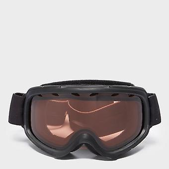 New Smith Kid's Gambler Air Snowboarding Ski Safety Goggles Black