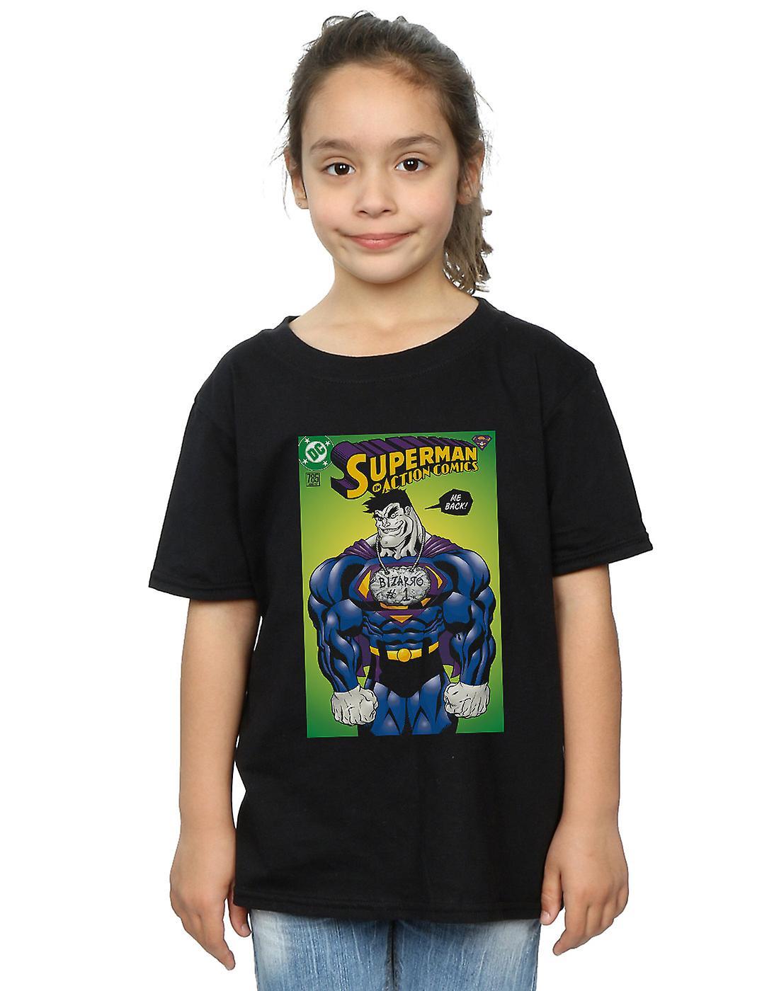 DC Comics Girls Superman Bizarro Action Comics 785 Cover T-Shirt