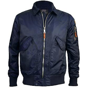Top Gun CWU 45 Flight Jacket Navy Blue