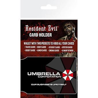 Resident Evil paraply kortholderen