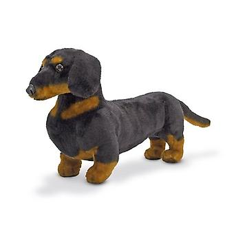 梅丽莎 – 道格巨人达赫肖德 - 栩栩如生的填充动物狗