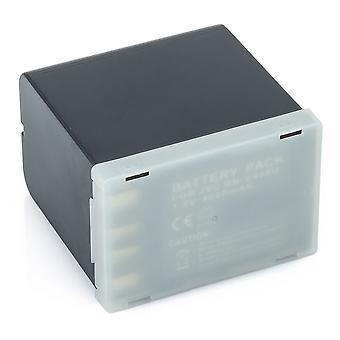 3x baterie pro JVC BN-V428 BN-V428U GR-33 BN-V408U GY-HD100 GR-HD1 řízeného BN-V408 BN-V416U GR-D200 GR-DV2000