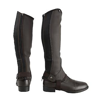 HyLAND Childrens/Kids Synthetic Combi Leather Half Chaps