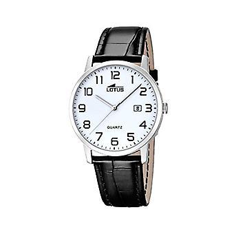 שעון קוורץ לוטוס גברים עם 18239/1 חגורת עור