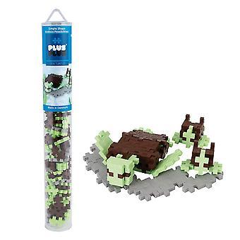 Plus-Plus Sea Turtle 100 pcs Tube Building Bricks,