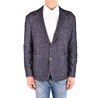 Jacob Cohen Ezbc054252 Men's Blue Cotton Blazer