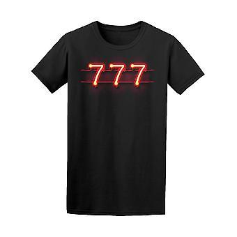 Casino 777 Jackpot scharfe Art T-Shirt Herren-Bild von Shutterstock