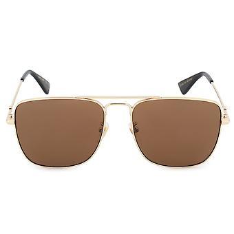 Gucci Aviator Sunglasses GG0108S 001 55