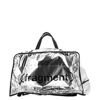 Moncler Genius 006160001ady999 Men's Silver Nylon Backpack