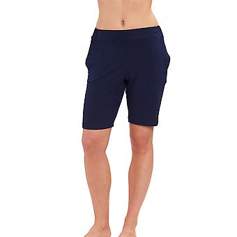 Casual chique noite Feraud 3191374-11694 feminino azul pijama curto