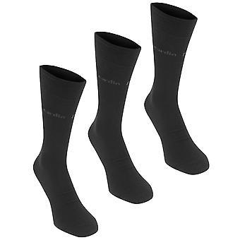 Pierre Cardin Mens 3 Pack pianura calzini