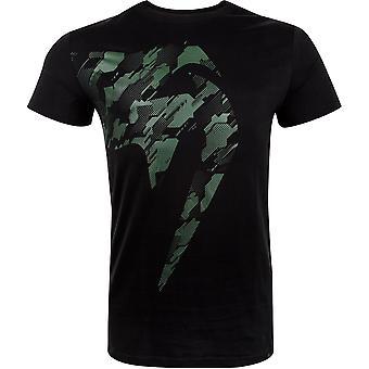 VM crianças Tecmo gigante camiseta de manga curta-preto/caqui