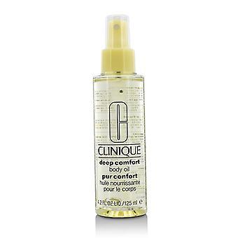 Clinique ulei de corp adânc confort-125ml/4.2 oz