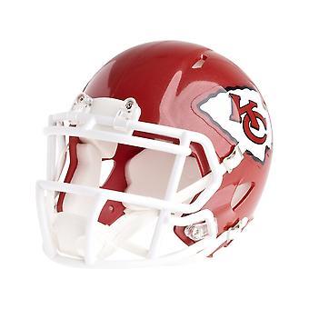Riddell mini football helmet - NFL Kansas City Chiefs speed