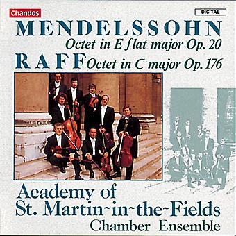 Mendelssohn/Raff - Mendelssohn: Oktett, Op. 20; Raff: Oktett, Op. 176 [CD] USA import