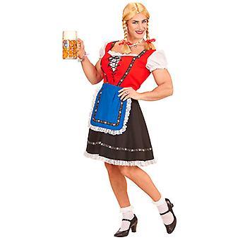 Beierse vrouw Man grootte kostuum