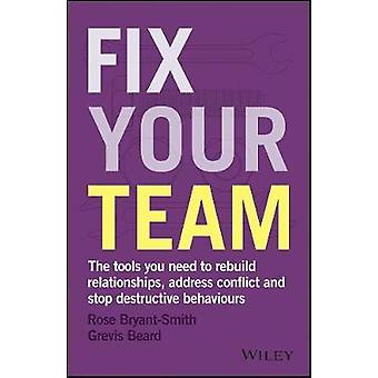 Fix Your Team - The Tools You Need to Rebuild Relationships - Address