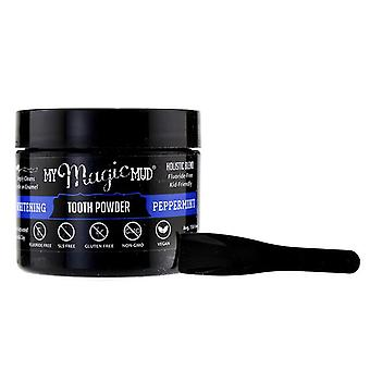My Magic Mud Activated Charcoal Whitening Tooth Powder - Peppermint - 30g/1.06oz
