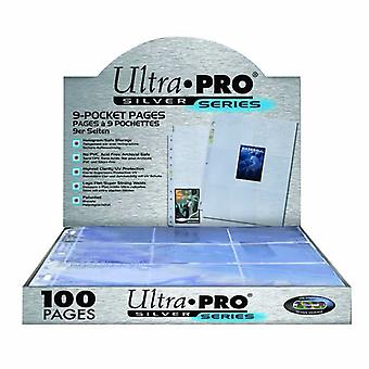Ultra Pro Silver Series 9 Pocket Trading Card 100 pagine box
