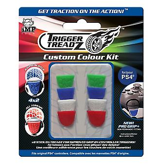 Trigger treadz: 8-Pack aangepaste kleur Kit (PS4)