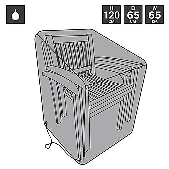 Charles Bentley Premium Stackable Krzesło Okładka - Czarny