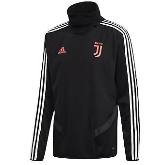 2019-2020 Juventus Adidas Warm Top (Black)
