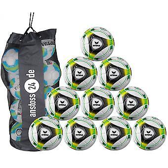10 x erima youth ball hybrid Lite 350 (2019) includes ball sack