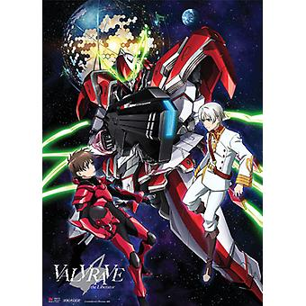 Fabric Poster - Valvrave The Liberator - New Haruto & L-Elf Wall Scroll Art ge8030