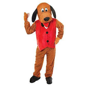 Bristol Novelty Unisex Adults Dog With Waistcoat Costume