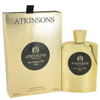Her majesty the oud eau de parfum spray by atkinsons 535849 100 ml
