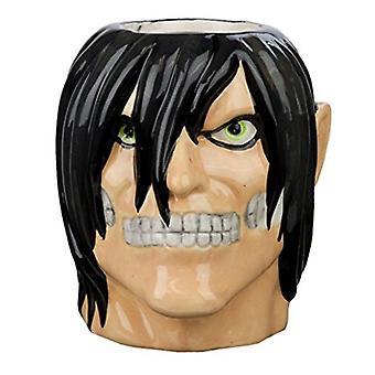 Molded Mug - Attack on Titan - Eren Yeager New mcmg-aot-ernttn