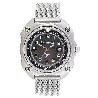 Aristo Messerschmitt Men's Watch Pilot's Watch Vintage ME2040-MIL Mesh