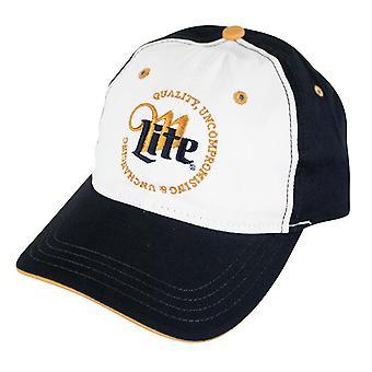 Miller Lite kwaliteit compromisloze & onveranderlijk logo hoed