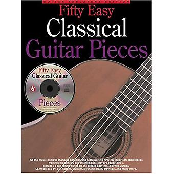 Fifty Easy Classical Guitar Pieces by Jerry Willard - 9780825628276 B