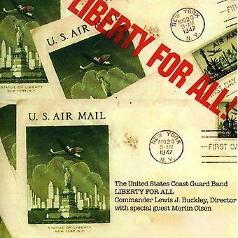 U.S. guarda costeira Band/Olsen-Liberty for All! [CD] importação EUA