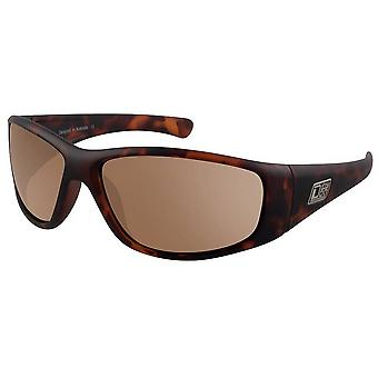 Dirty Dog Wolf Satin Sunglasses - Brown Tort/Brown