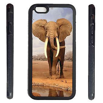 iPhone 6 shell met olifant foto afdrukken