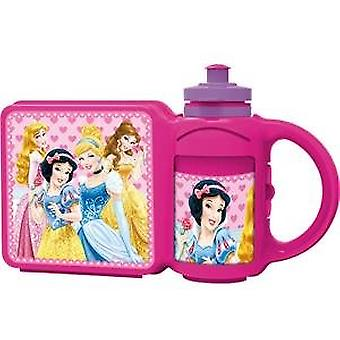 Lunchbox and large combi bottle Princess