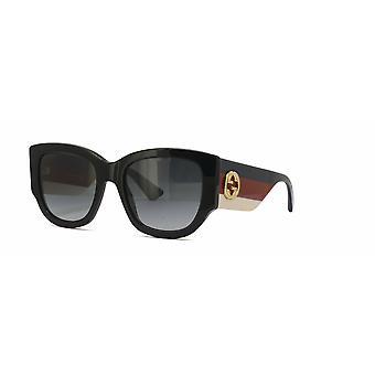 Gucci GG0276S 001 Black/Grey Sunglasses