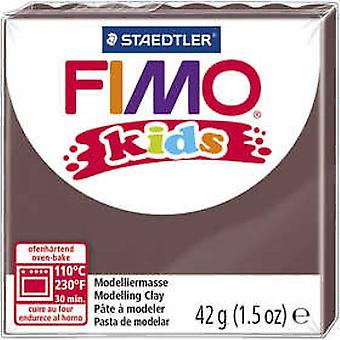 Fimo Kids Modelling Clay, Brown, 42 g
