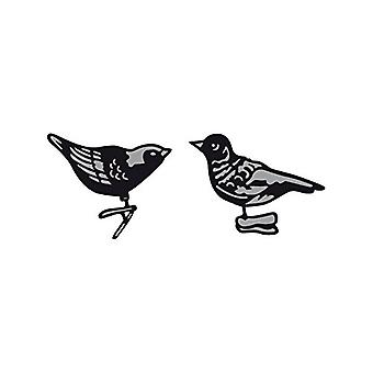 Marianne Design Craftables Tiny's Ornaments Birds Die, Grey
