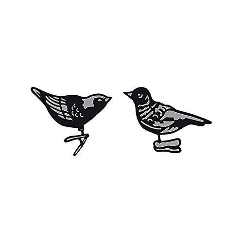 Marianne Design Craftables Tiny's Ornaments Birds Die, Grey