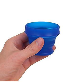 Lewis N. Clark GoCup Collapsing Travel Cup, Large, Blue #HG0322