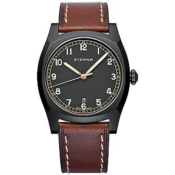 Eternal Heritage Automatic Analog Man Watch with Cowhide Bracelet 1939.43.46.1299