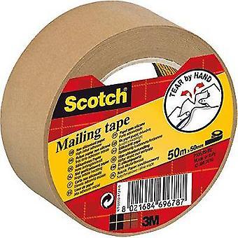 3M 7000095747 Packaging tape Scotch® Brown (L x W) 50 m x 50 mm 50 m