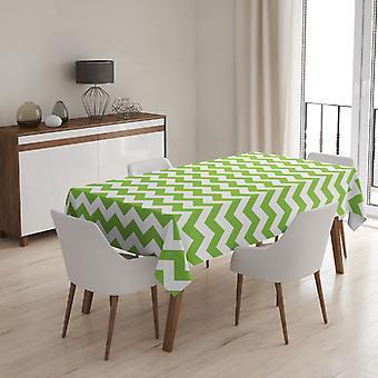 Meesoz Tischdecke - Zigzag Green